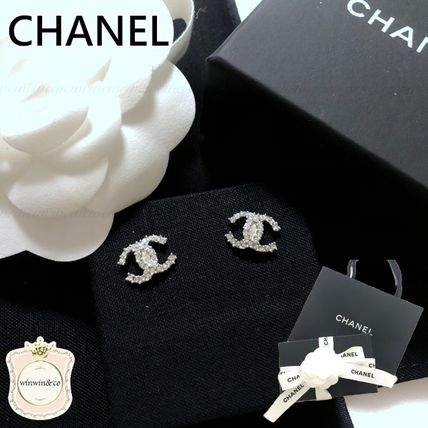 CHANEL Elegant Style Earrings