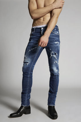 D SQUARED2 Tapered Pants Denim Jeans