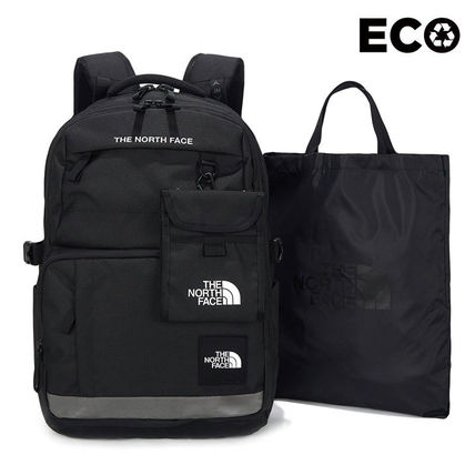 THE NORTH FACE WHITE LABEL Casual Style Unisex Street Style A4 Plain Logo Satchels