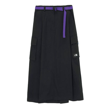 THE NORTH FACE WHITE LABEL Casual Style Street Style Plain Logo Skirts