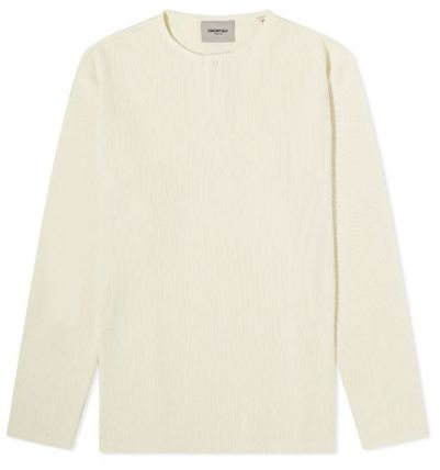 FEAR OF GOD Long Sleeve Crew Neck Street Style Long Sleeves Plain Oversized 2
