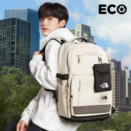 THE NORTH FACE WHITE LABEL Unisex Street Style Backpacks