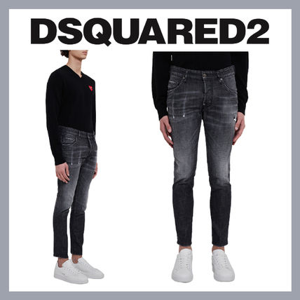 D SQUARED2 More Jeans Street Style Plain Cotton Jeans