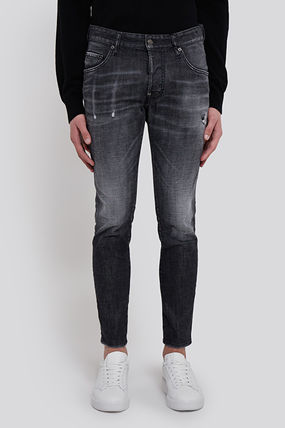 D SQUARED2 More Jeans Street Style Plain Cotton Jeans 2