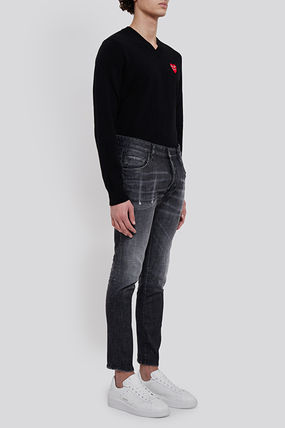 D SQUARED2 More Jeans Street Style Plain Cotton Jeans 3
