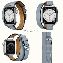 HERMES Double Sens Casual Style Leather Party Style Office Style Elegant Style