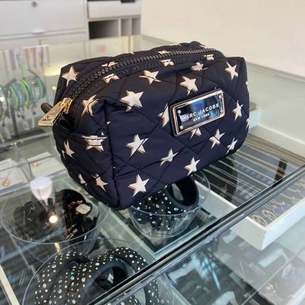 MARC JACOBS Logo Star Nylon Pouches & Cosmetic Bags