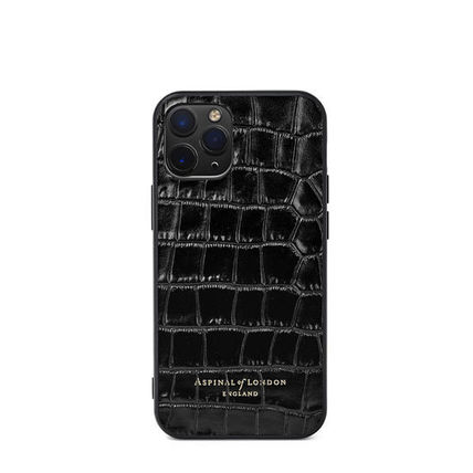 Logo Leather Smart Phone Cases
