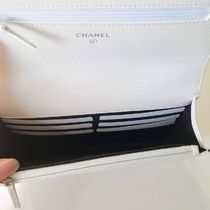 CHANEL Shoulder Bags Casual Style Calfskin 2WAY 3WAY Chain Plain Party Style 7