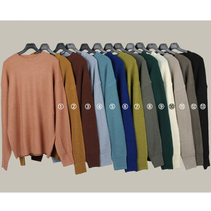 SCENERITY Sweaters Plain Oversized Sweaters 2