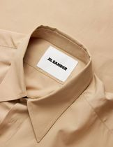 Jil Sander Shirts Long Sleeves Plain Cotton Designers Shirts 9
