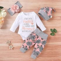 PatPat Street Style Co-ord Baby Girl Bottoms