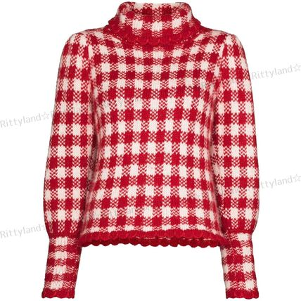 Short Gingham Cropped