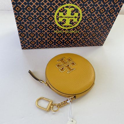 Tory Burch Leather Keychains & Bag Charms