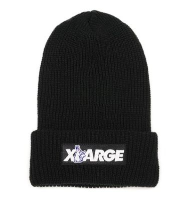 X-Large Unisex Street Style Collaboration Knit Hats