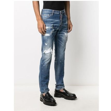 D SQUARED2 More Jeans Denim Street Style Cotton Logo Jeans 3