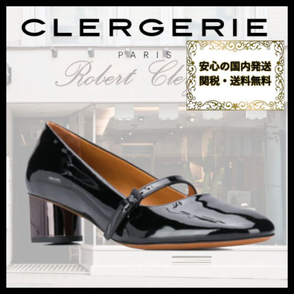 Round Toe Leather Office Style Elegant Style Formal Style