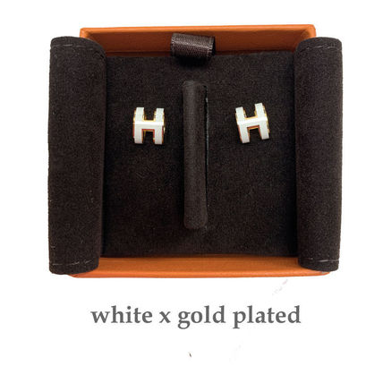 HERMES HERMES Pop H mini Earrings