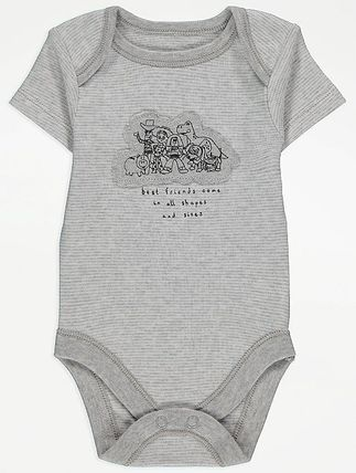 George Collaboration Co-ord Baby Boy Bodysuits & Rompers