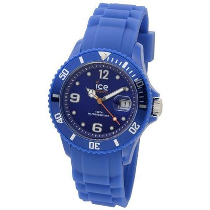 ICE WATCH Casual Style Unisex Silicon Round Quartz Watches