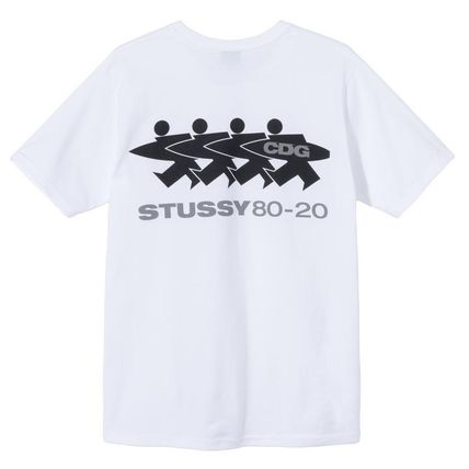 STUSSY More T-Shirts Skater Style Graphic Prints T-Shirts