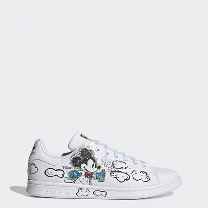 adidas STAN SMITH Street Style Collaboration Logo Sneakers