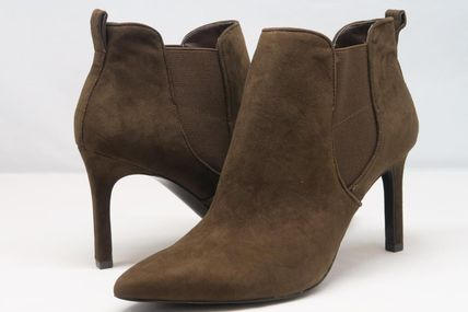 Ralph Lauren Casual Style Plain Ankle & Booties Boots