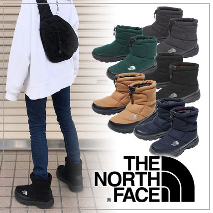 THE NORTH FACE Unisex Plain Boots Boots