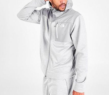 THE NORTH FACE Sweat Street Style Plain Logo Loungewear Outdoor Hoodies