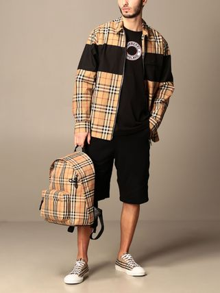 Burberry Short Other Plaid Patterns Street Style Loungewear