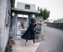 Casual Style Street Style Plain Long Party Style MA-1 Midi