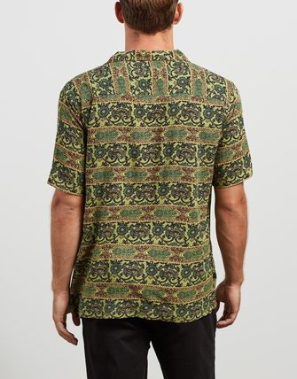 STUSSY Shirts Button-down Short Sleeves Skater Style Shirts 2