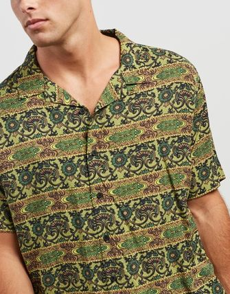 STUSSY Shirts Button-down Short Sleeves Skater Style Shirts 3