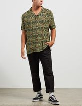 STUSSY Shirts Button-down Short Sleeves Skater Style Shirts 4