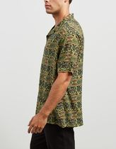 STUSSY Shirts Button-down Short Sleeves Skater Style Shirts 6