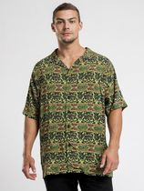 STUSSY Shirts Button-down Short Sleeves Skater Style Shirts 7