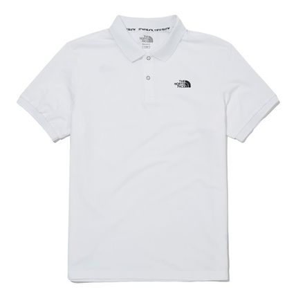 THE NORTH FACE WHITE LABEL Unisex Street Style Plain Outdoor Polos
