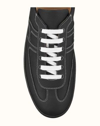 HERMES Blended Fabrics Street Style Activewear Shoes