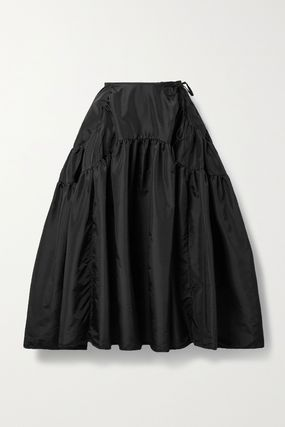 CECILIE BAHNSEN Flared Skirts Casual Style Plain Elegant Style Skirts