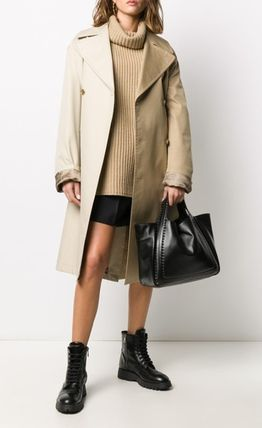 VALENTINO Casual Style Street Style Totes