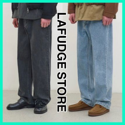 LAFUDGE STORE More Jeans Street Style Jeans
