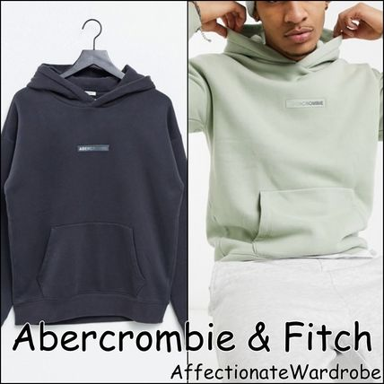 Abercrombie & Fitch Hoodies Long Sleeves Plain Logo Surf Style Hoodies