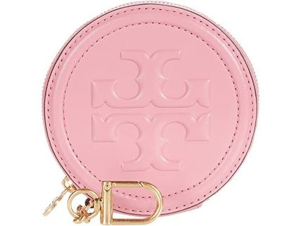 Tory Burch Studded Street Style Leather Coin Cases