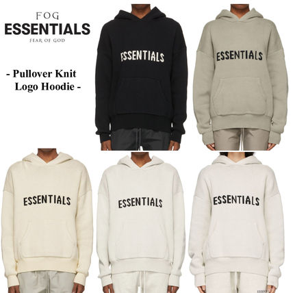 FEAR OF GOD Hoodies Pullovers Unisex Blended Fabrics Street Style Long Sleeves