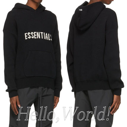 FEAR OF GOD Hoodies Pullovers Unisex Blended Fabrics Street Style Long Sleeves 3