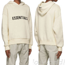 FEAR OF GOD Hoodies Pullovers Unisex Blended Fabrics Street Style Long Sleeves 9