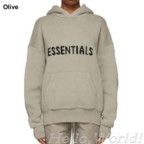 FEAR OF GOD Hoodies Pullovers Unisex Blended Fabrics Street Style Long Sleeves 10