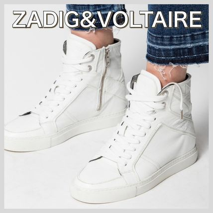 ZADIG & VOLTAIRE Low-Top Casual Style Low-Top Sneakers