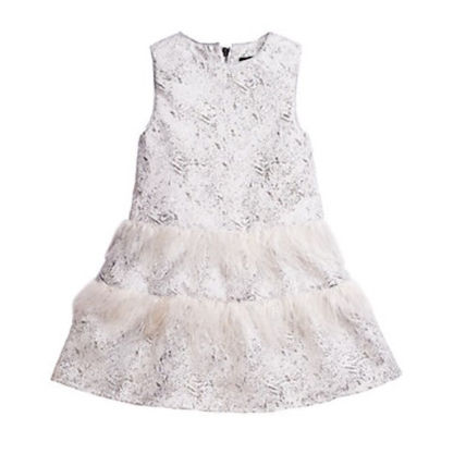 Fringes Glitter Bridal Kids Girl Dresses