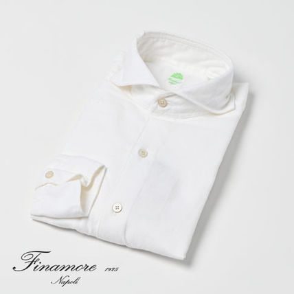 Long Sleeves Plain Cotton Handmade Shirts